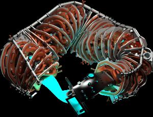 HSX rendering, vessel cutaway, isometric view.